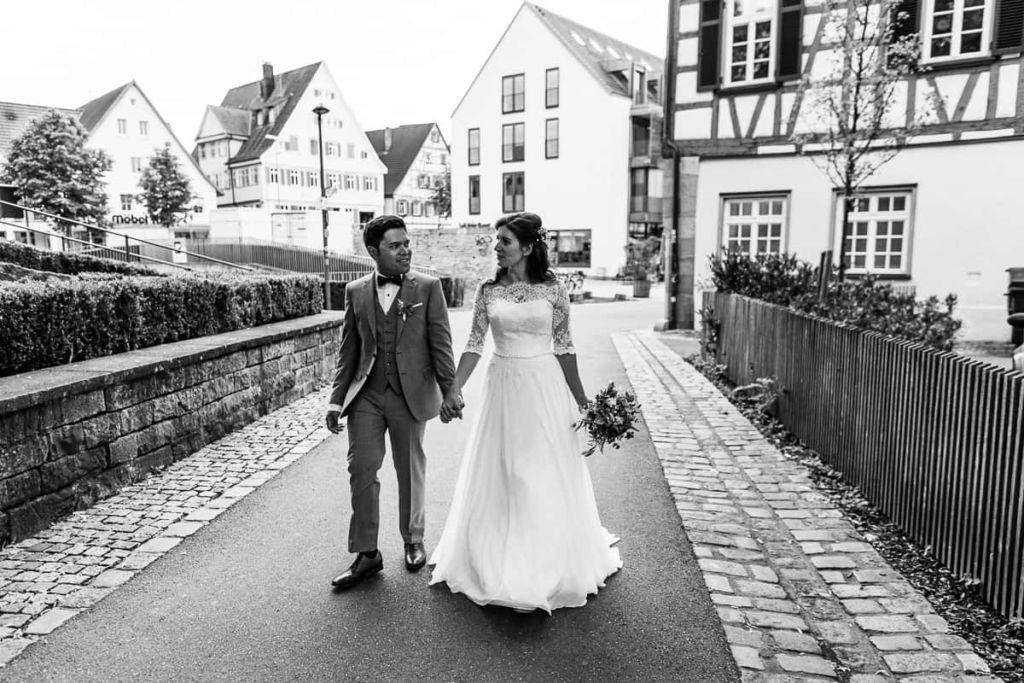 Hochzeitsfotograf Stuttgart Hochzeitslocation Kirchheim Teck Brautpaar