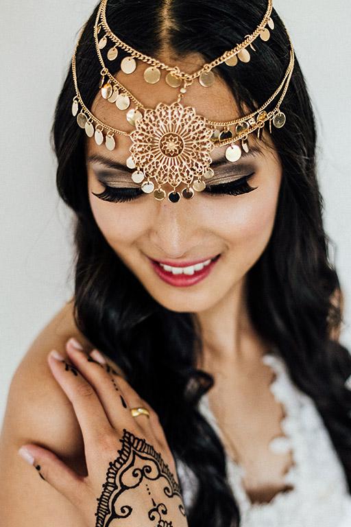 Styleshooting multikulturelle Hochzeit Orient