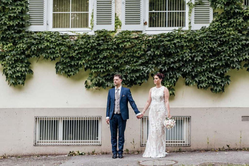 Schloss Solitude Hochzeitsfotografie Stuttgart Brautpaar