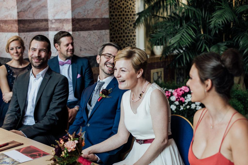 Trauung in der Wilhelma Stuttgart Hochzeit