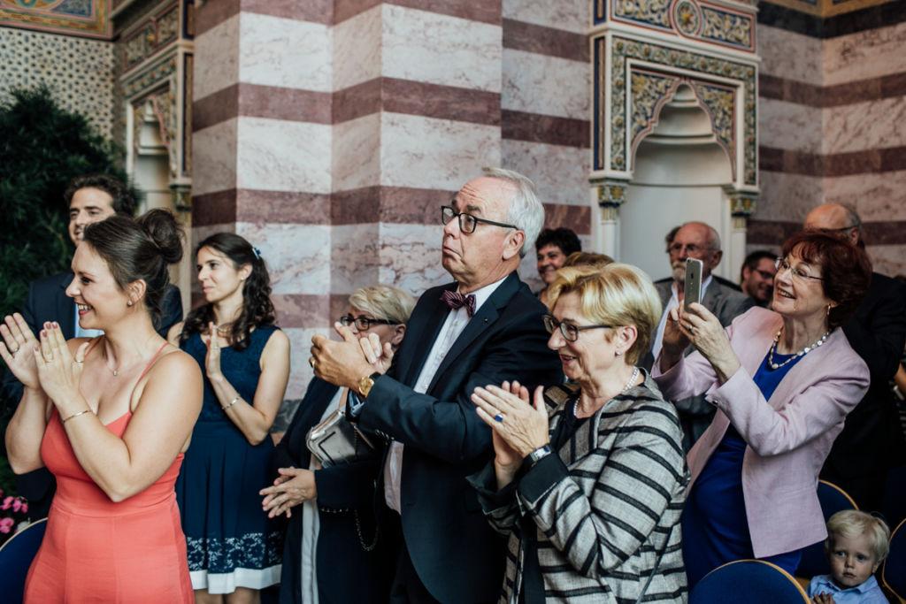 Trauung in der Wilhelma Stuttgart Gäste