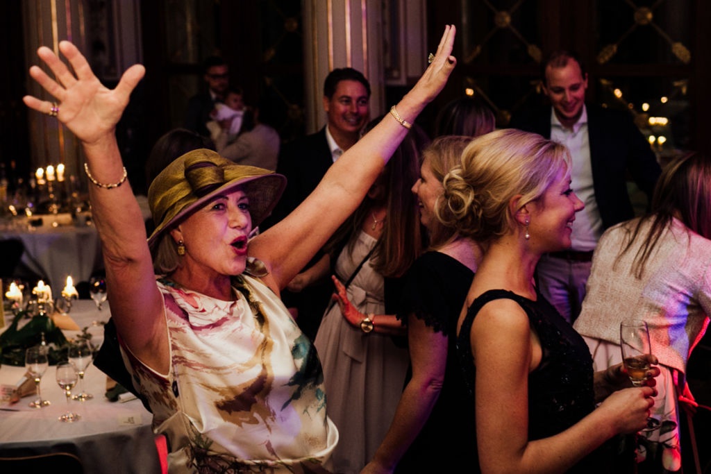 Trauung in der Wilhelma Party