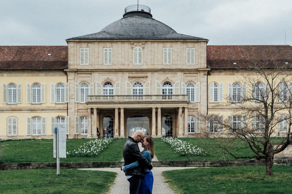 Pärchenbilder von Miriam und Sven Schloss Hohenheim