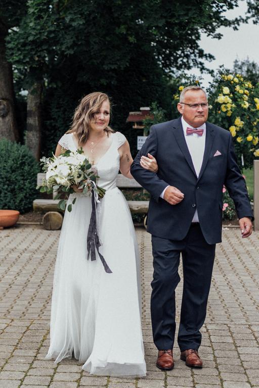 Hochzeitsfotos in Stuttgart Einzug