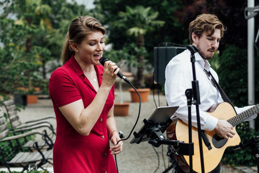 Hochzeitsfotos in Stuttgart Trauung Musikband