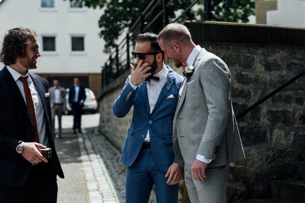 Hochzeitsfotograf für Sportler Trauzeugen