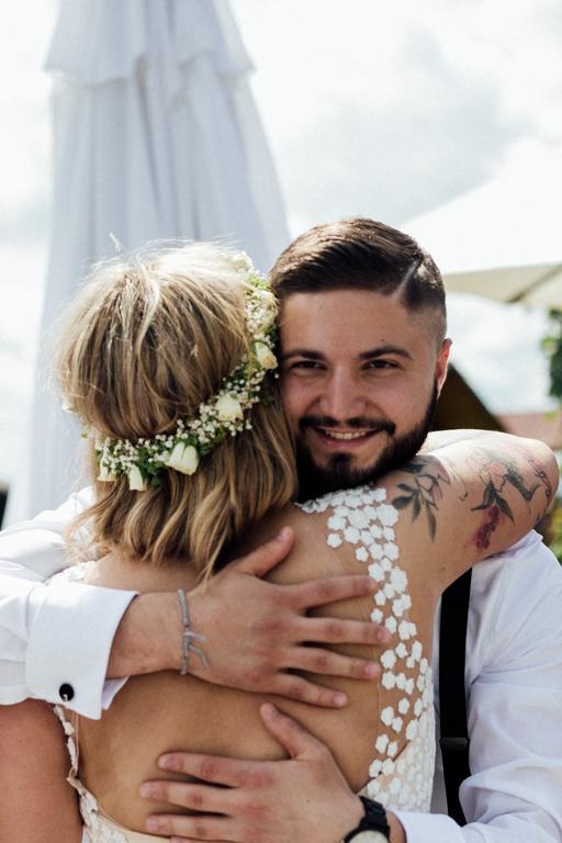 Hochzeitsfotograf für Sportler Gratulation Freunde