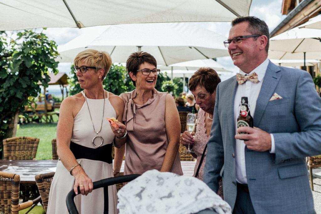 Hochzeitsfotograf für Sportler Feier Reportagebilder