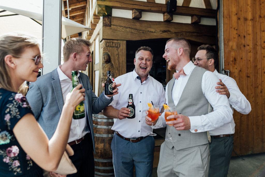 Hochzeitsfotograf für Sportler Feier Freude