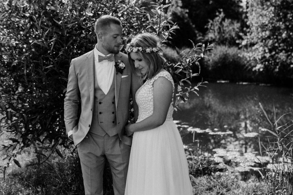Hochzeitsfotograf für Sportler Paarhooting Weingut Amalienhof See