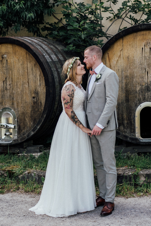 Hochzeitsfotograf für Sportler Paarhooting Weingut Amalienhof