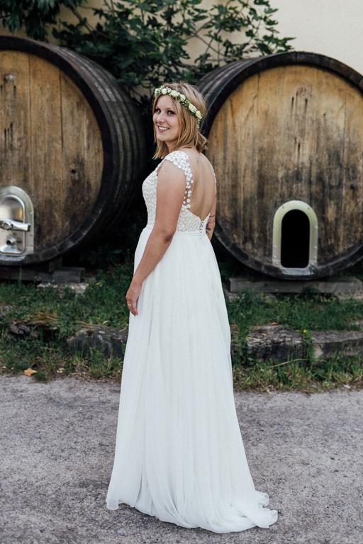 Hochzeitsfotograf für Sportler Braut Weingut Amalienhof