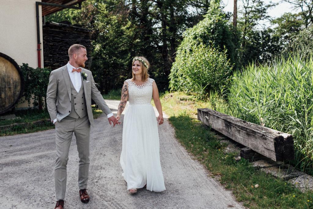 Hochzeitsfotograf für Sportler Brautpaar