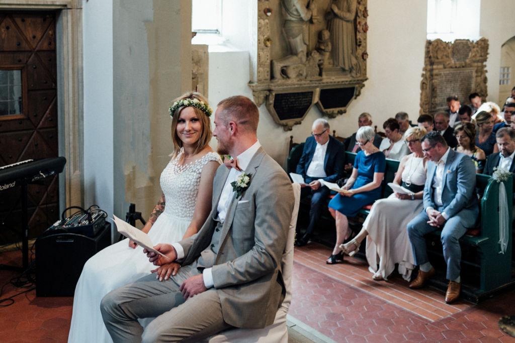 Hochzeitsfotograf für Sportler Trauung Kirche