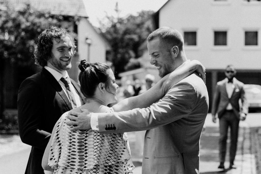 Hochzeitsfotograf für Sportler Kirche Gäste