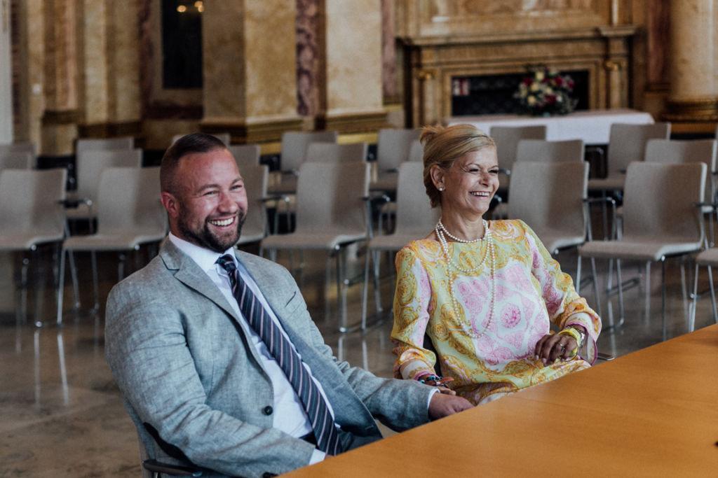 Hochzeit im Neuen Schloss Stuttgart Trauung
