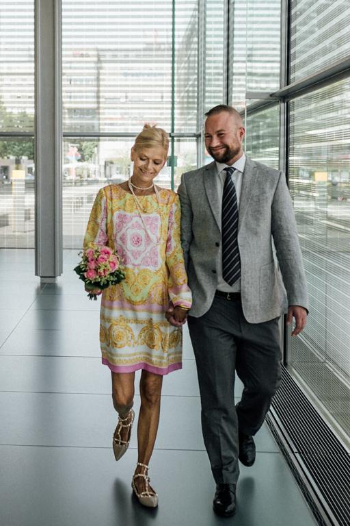 Hochzeit im Neuen Schloss Stuttgart Paarfotos Braut & Bräutigam